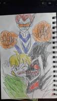Black blade vs Dr.Molecule!