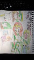 Mysticblade!: Green blade!
