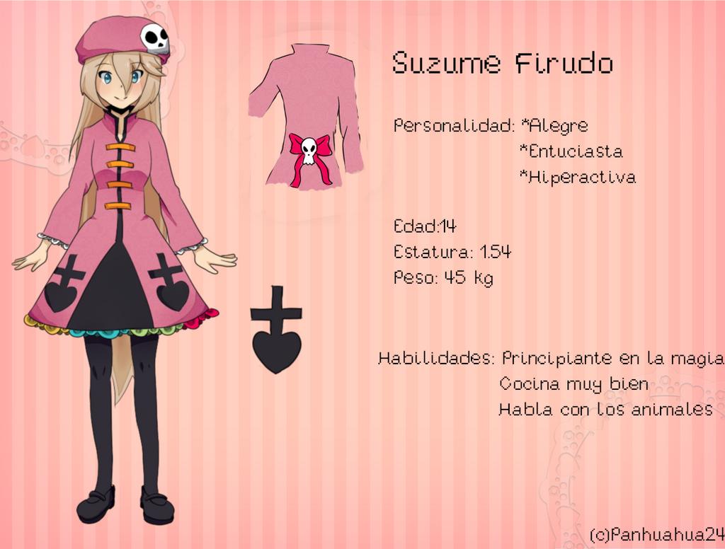Suzume Firudo (Referencia)-OC by Panhuahua24 on DeviantArt