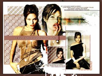 Angelina Jolie Wallpaper by MrKandi