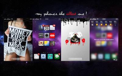 Illest iPhone ScreenShot. by MrKandi