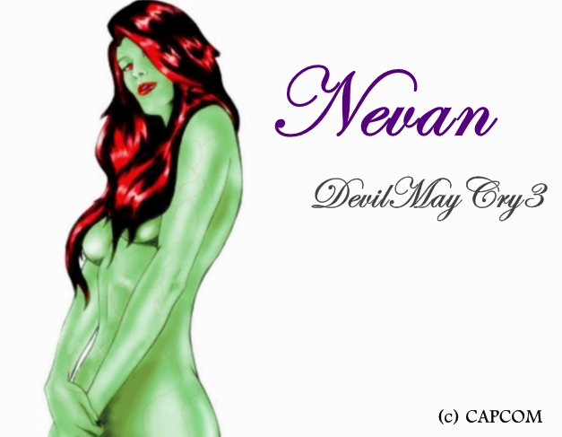 DMC3  Nevan  c  Capcom by YmerOren