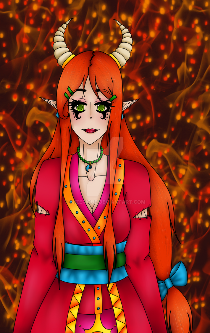 Goddess Phoenix by Mizerique