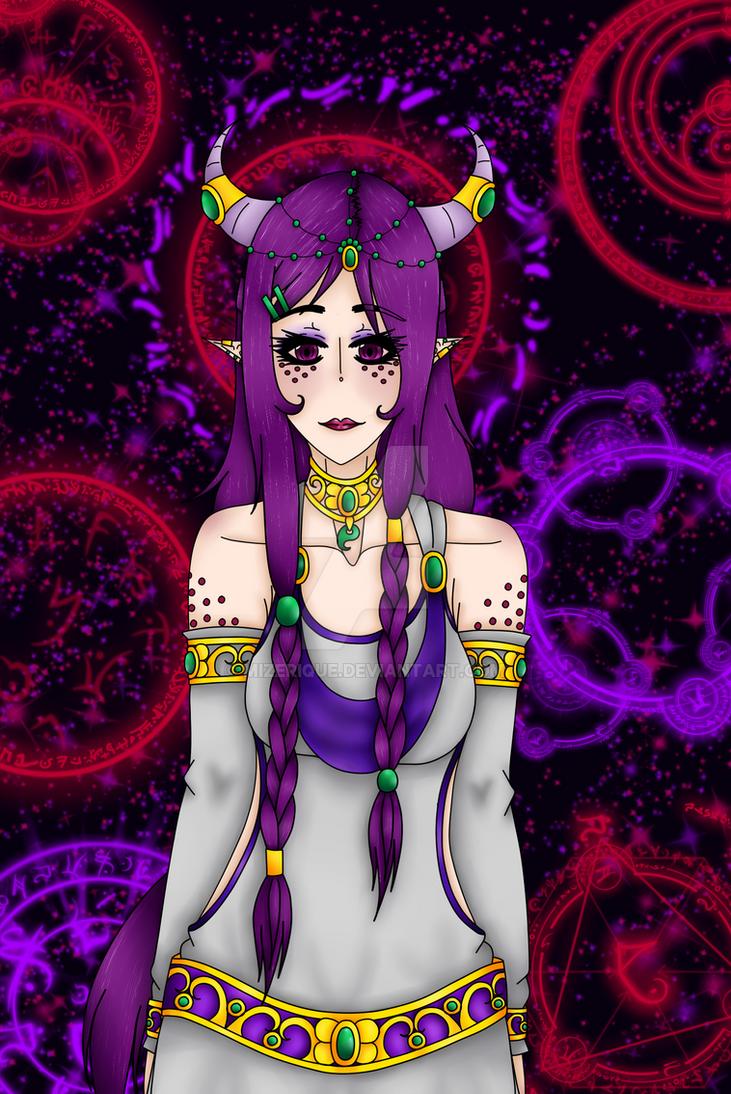 Goddess Sagrikami by Mizerique
