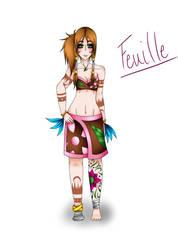 Gym Leader Feuille by Mizerique