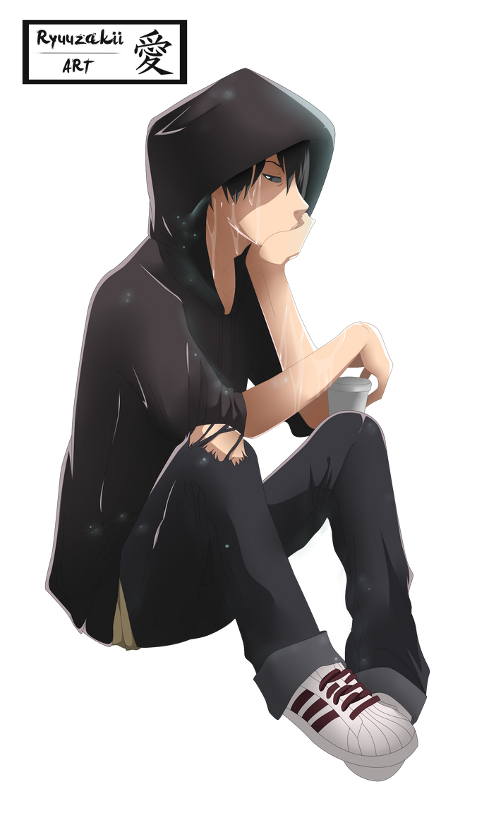 Request sad boy render by kohaku art