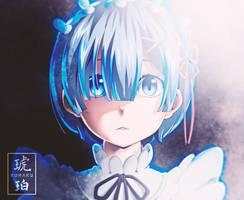 Rem | Re:Zero by Kohaku-Art