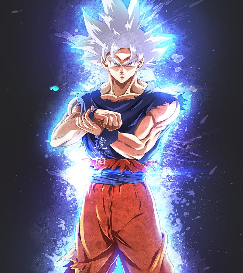 Son Goku Ultra Instinct by Kohaku-Art on DeviantArt