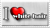 I Love White Hair by Zimmette-Stock