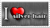 I Love Silver Hair by Zimmette-Stock