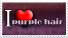 I Love Purple Hair