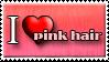I Love Pink Hair