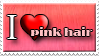 I Love Pink Hair by Zimmette-Stock