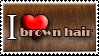 I Love Brown Hair