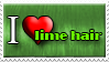 I Love Lime Hair by Zimmette-Stock
