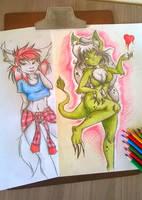 Rose and Lara