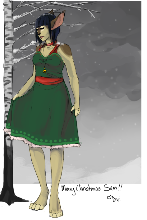 Barefoot in the Snow by suchacat