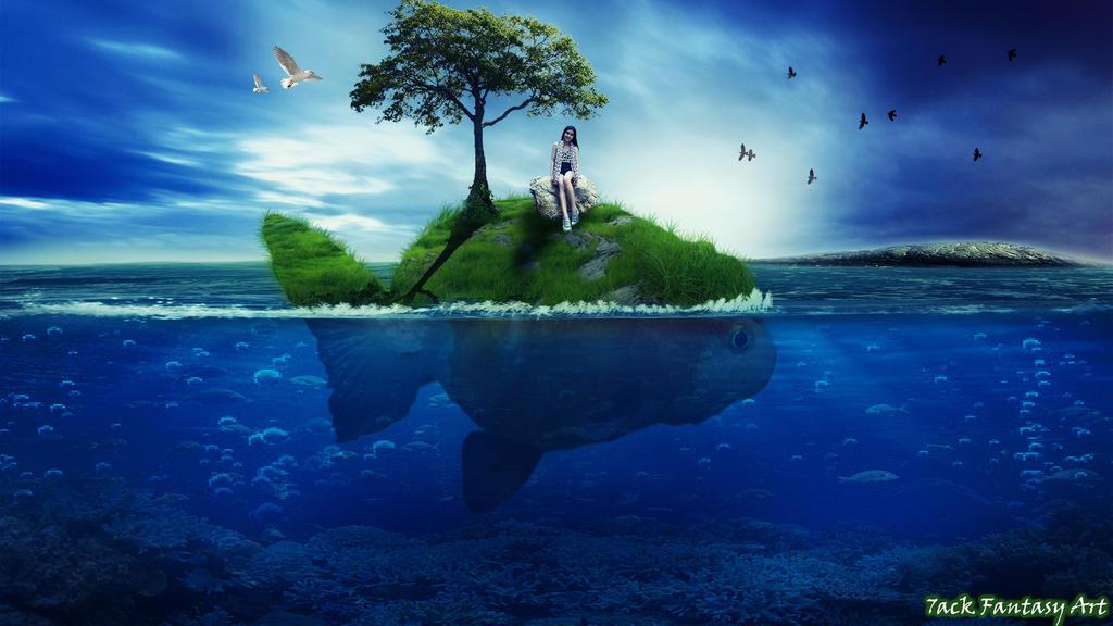 Goldfish Island by 7ack-the-Joker on DeviantArt