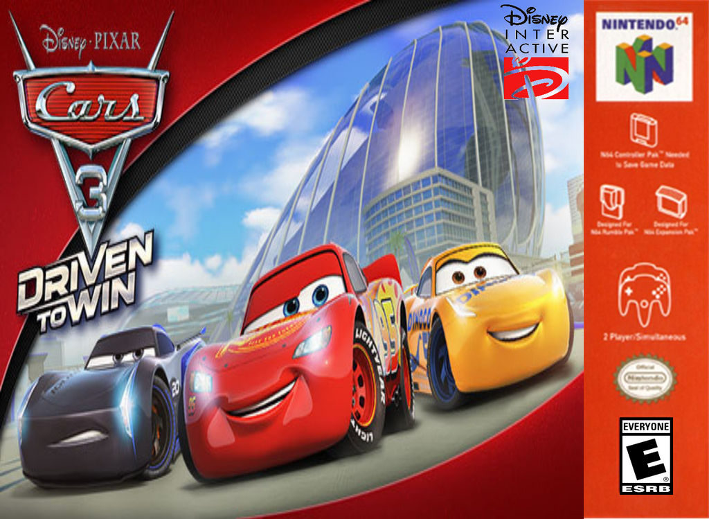 Cars 3 Driven To Win For Nintendo 64 By Timzuneeverse On Deviantart