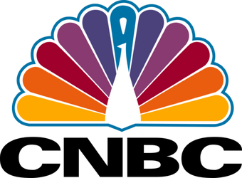 1990s CNBC logo with 1979 NBC Peacock by TimzUneeverse