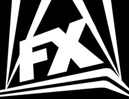 FX 2013 logo (1987 Fox logo style)