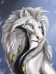 Lion Alan portrait