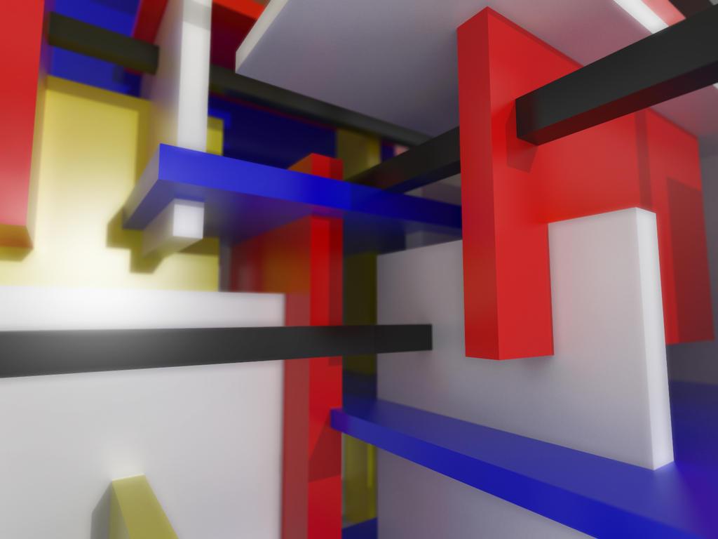 De stijl sculpture by squaresculptor on deviantart for De stijl architettura