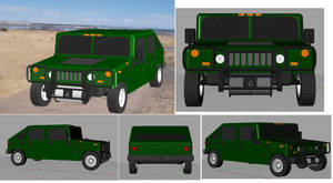 3D Hummer, YAY by jamez88