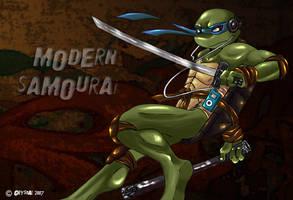-TMNT- Modern Samourai by xSkyeCrystalx