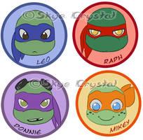 .: TMNT - Badges :.