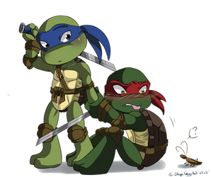 .: TMNT - Kiriban :. by xSkyeCrystalx
