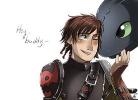 .: HTTYD 2 - Hey there buddy :. by xSkyeCrystalx