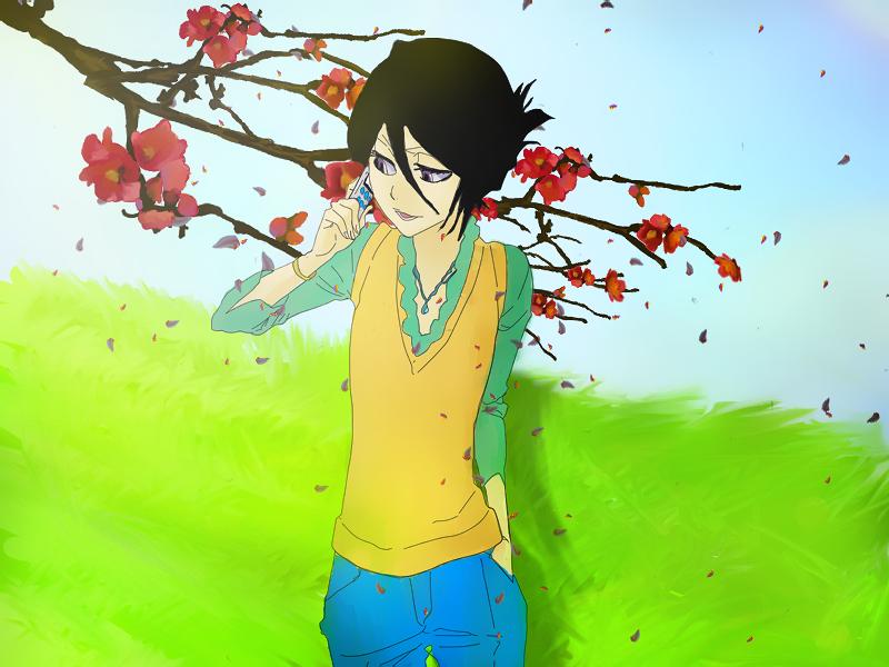 El unico dp que he hecho en mi vida. Rukia_by_lycantrophya-d30kmek