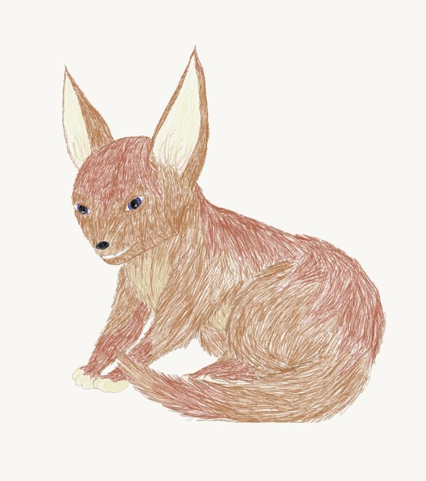 Fox Creature by edragongirl