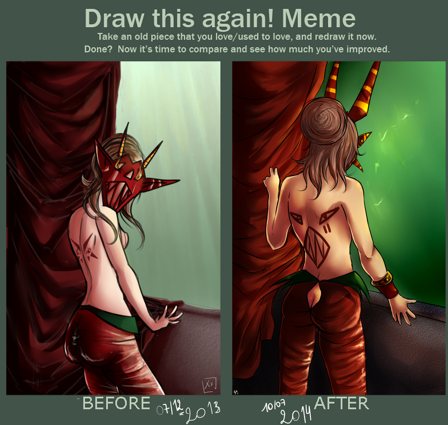 Improvement Meme : Beth by Ivel-Xx