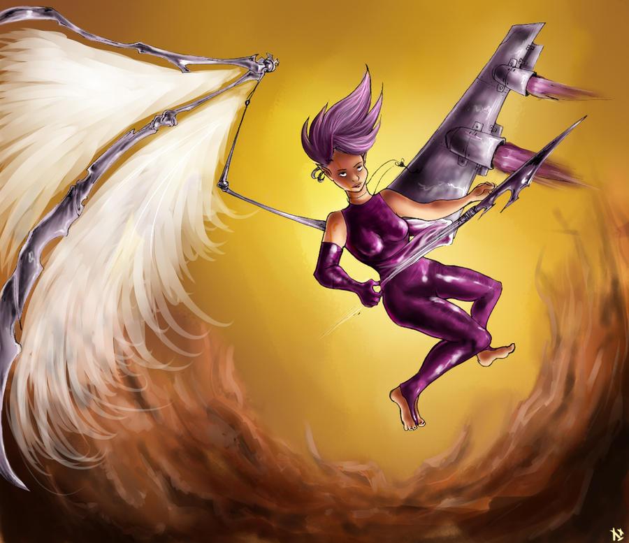 Modern Angel by Ivel-Xx
