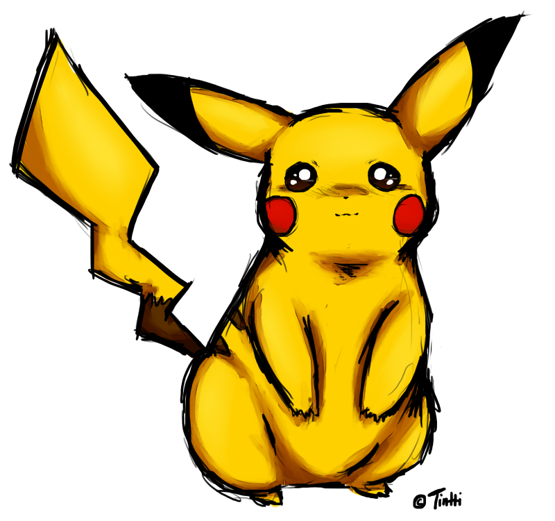 Pikachu by PaPuPo