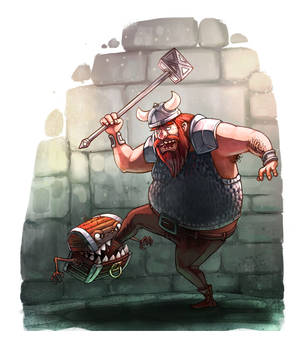 The mimic and the dwarf