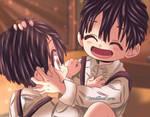Tsukasa and Amane JSHK