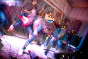 'Jennyfear' in HARDT-club Ekb