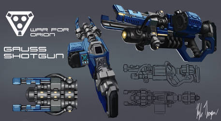 Weapon design-1 by ArtOfThompson