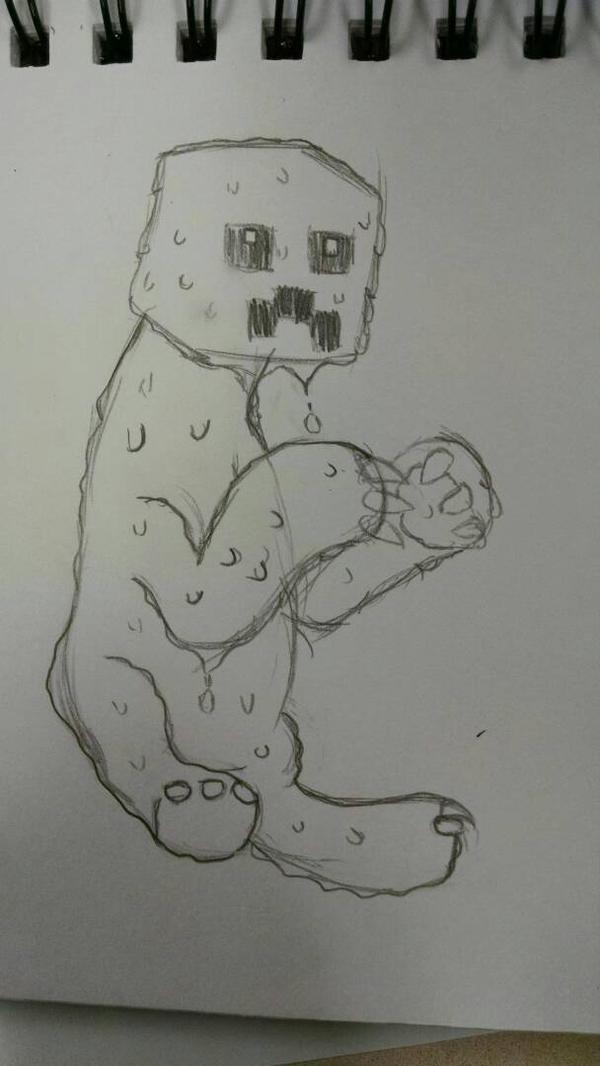 Slime Creeper by LegitHerobrine