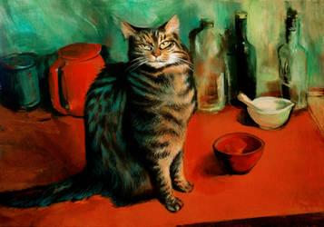 portrait of Michal by JuliuszLewandowski