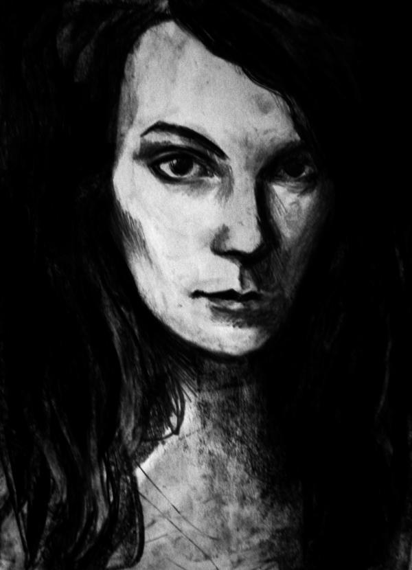 Kasia sketch by JuliuszLewandowski