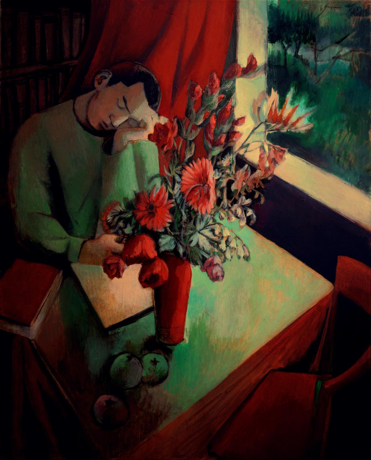 red flowers by JuliuszLewandowski