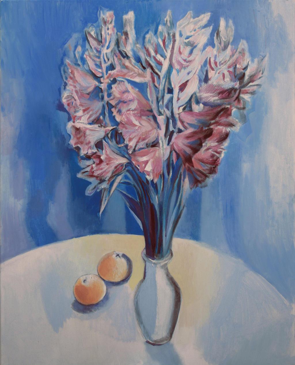 gladioli still life by JuliuszLewandowski
