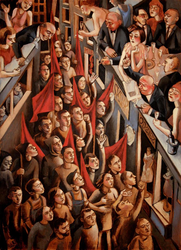 strike by JuliuszLewandowski