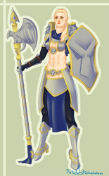 Nix Farmight the Knight by GlassLotuses