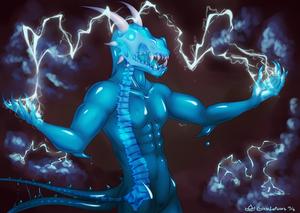 Slimefolk Dragonborn