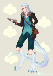 Vanadis the Half Dragon Alchemist Artificer